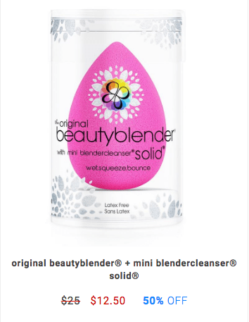 50% Off BeautyBlender