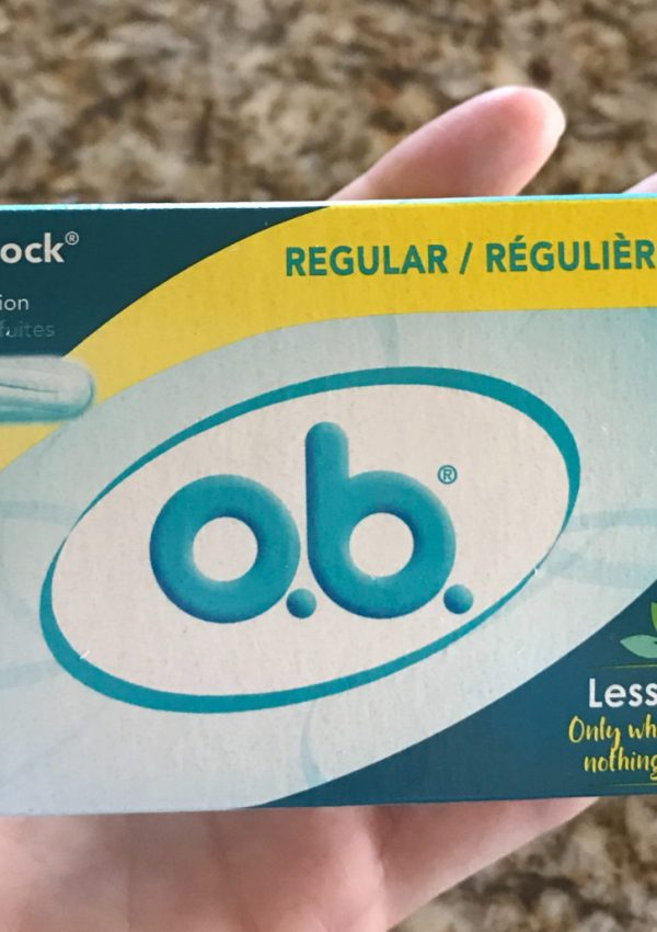 FREE o.b. Tampons 18-Count Package