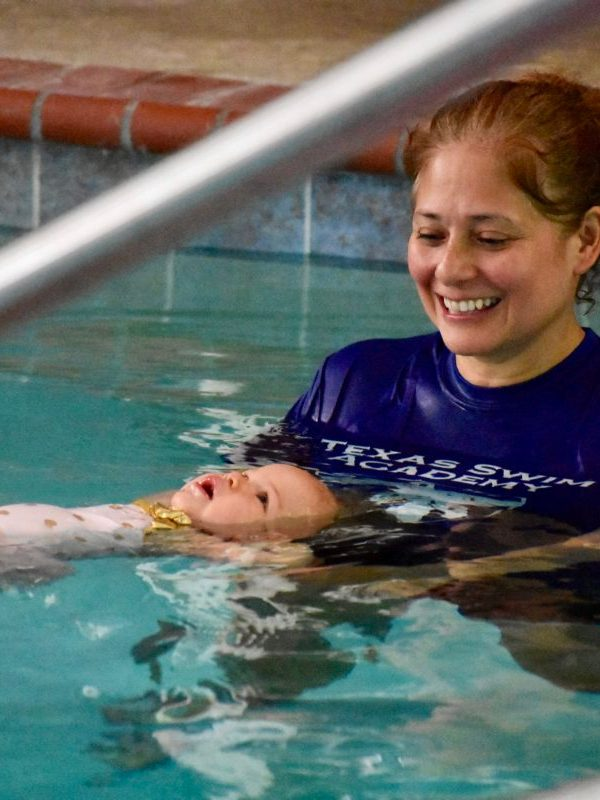 Infant Survival Swim at Texas Swim Academy