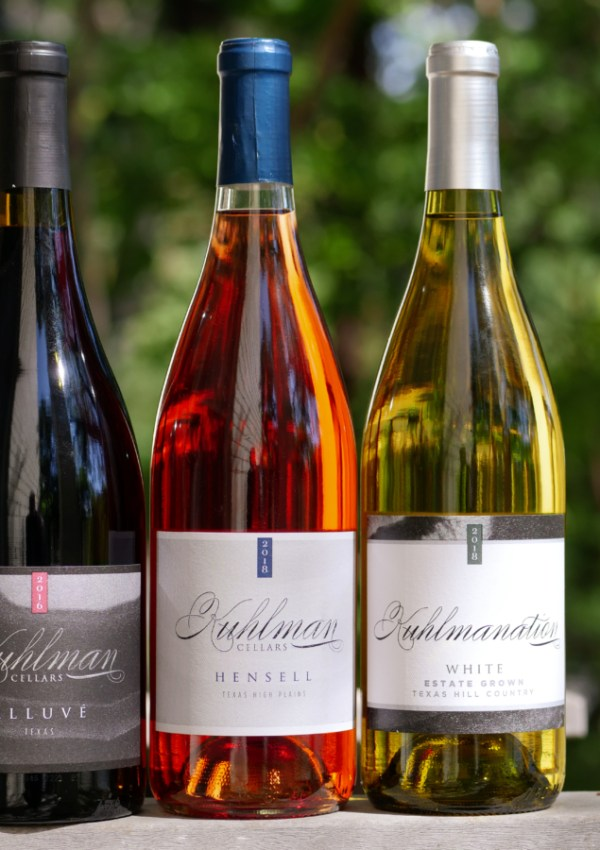 Kuhlman Cellars Thanskgiving Wines