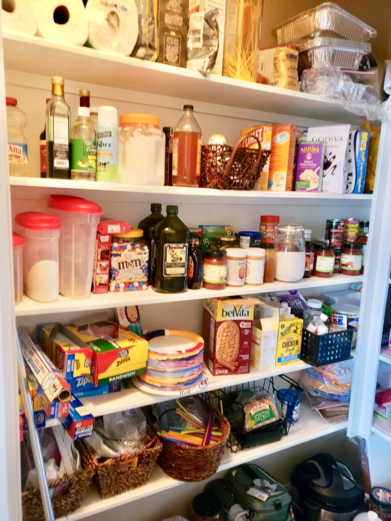 Before pantry photo
