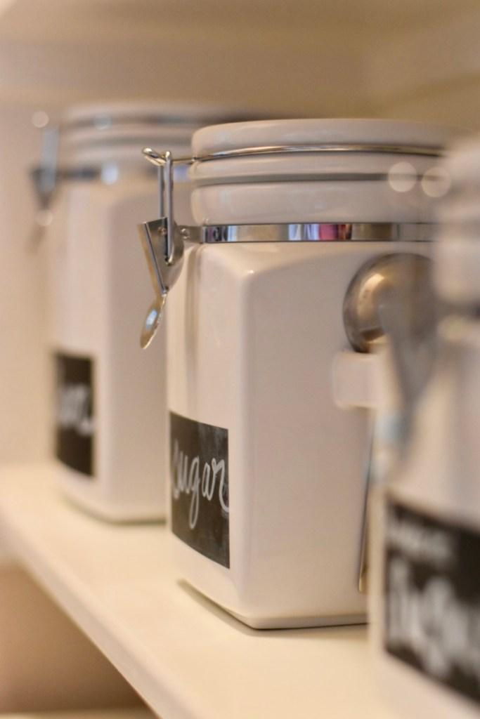 Crate and Barrel jars