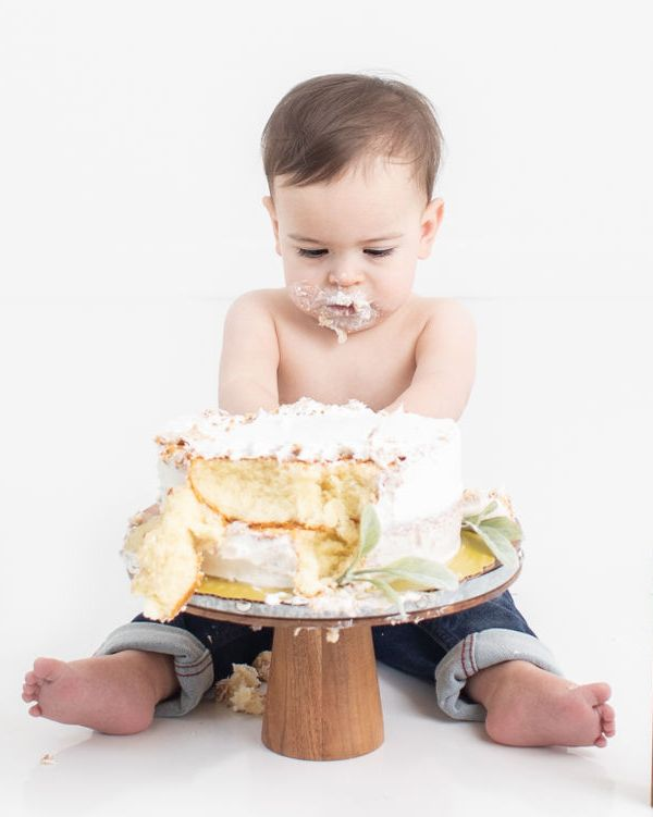 Cake Smash Session with Kat E Photography