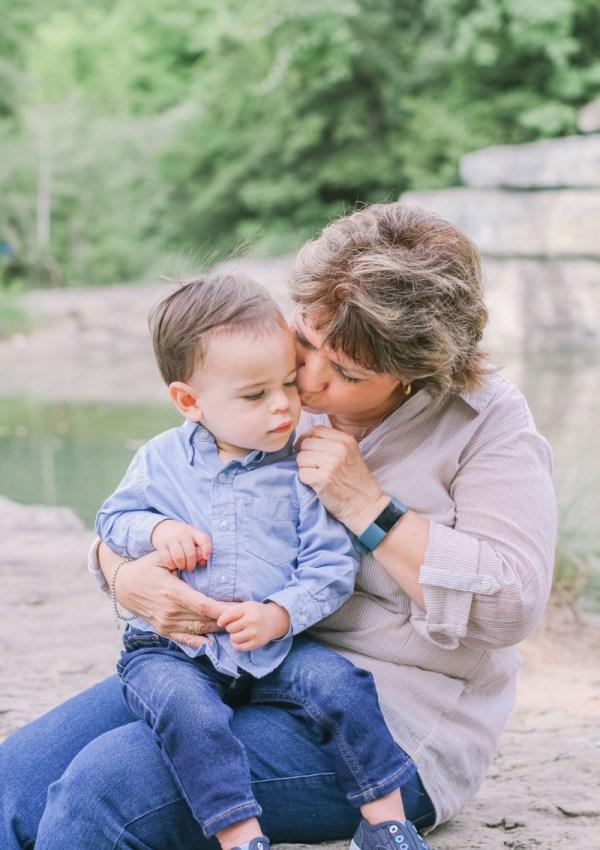 Mimi and grandson