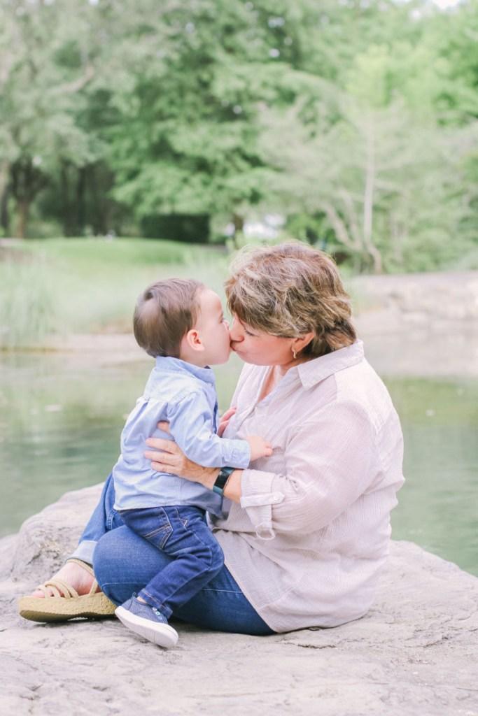Mimi and Jacob grandparent photos