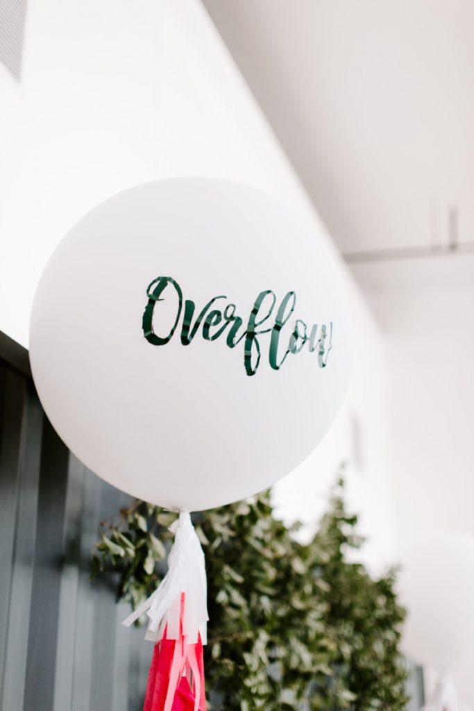 Overflow balloon