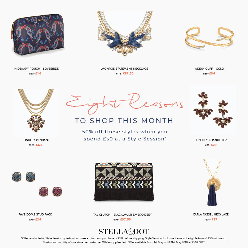 Style Session Exclusive offers – May