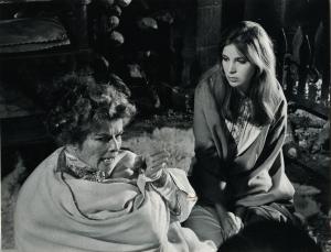 With Katharine Hepburn