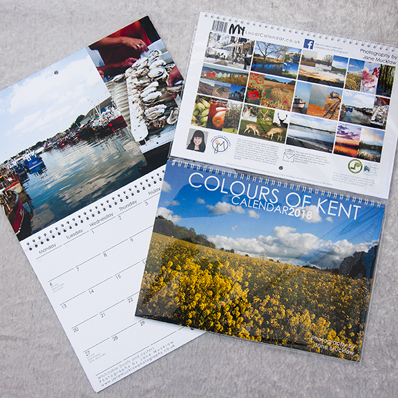 Colours of Kent 2018 Calendar cover image by Jane Mucklow Photography