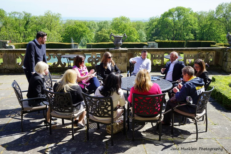 Photo of a networking workshop at the Networkers Networking event at Port Lympne, by Jane Mucklow