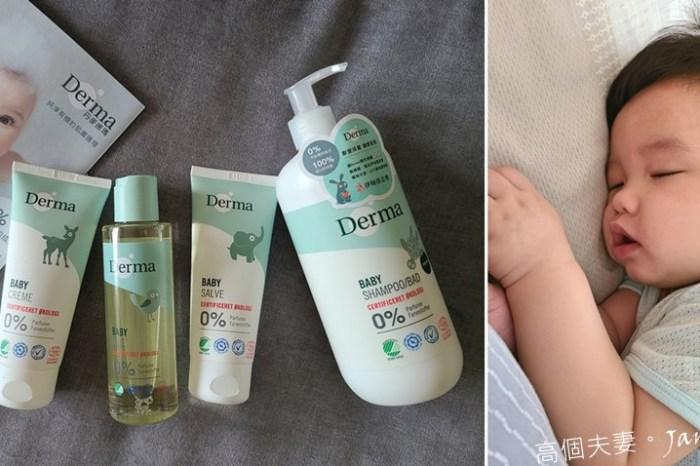 嬰兒洗髮沐浴護膚推薦-丹麥原裝進口Derma丹麥德瑪