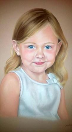 Olivia, pastel