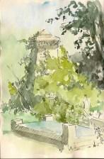 In the Churchyard