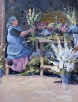 The Flower Seller