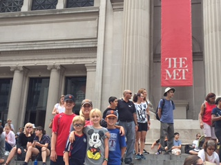 Me and Kids at Met