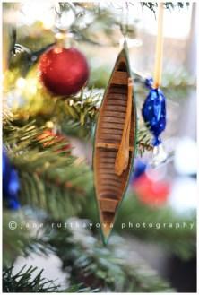 xmas canoe