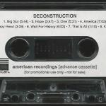 Deconstruction Advance Cassette Side 2