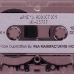 Nothing's Shocking Promo Cassette Side A