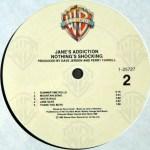 Nothing's Shocking Vinyl Side 2