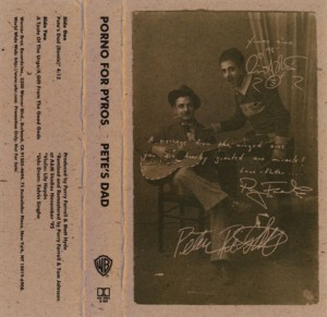 Pete's Dad Cassette Cover