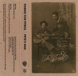 Pete's Dad Cassette Cover