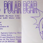 Polar Bear (Blue Vinyl) Inside