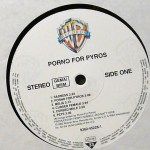 Porno For Pyros Black Vinyl Side 1