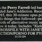 Psi Com Triple-X Disc Label