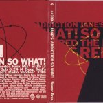 So What! The Deep Red Remixes Front & Back
