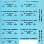 Worktape 1 Tape Labels