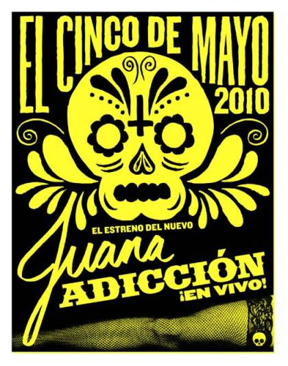 Jane's Addiction 2010-05-05 Teaser Flyer