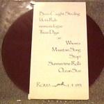 Untitled Red Vinyl Back
