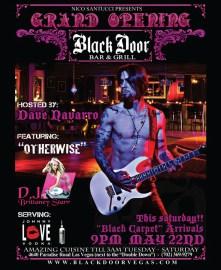 Black Door Grand Opening Ad