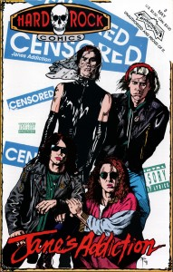 Hard Rock Comics: Jane's Addiction - Cover