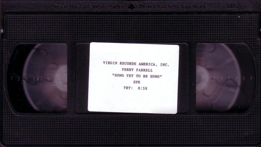 Song Yet To Be Sung EPK (v2) Tape Front