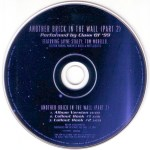 Another Brick In The Wall Promo v1 Disc