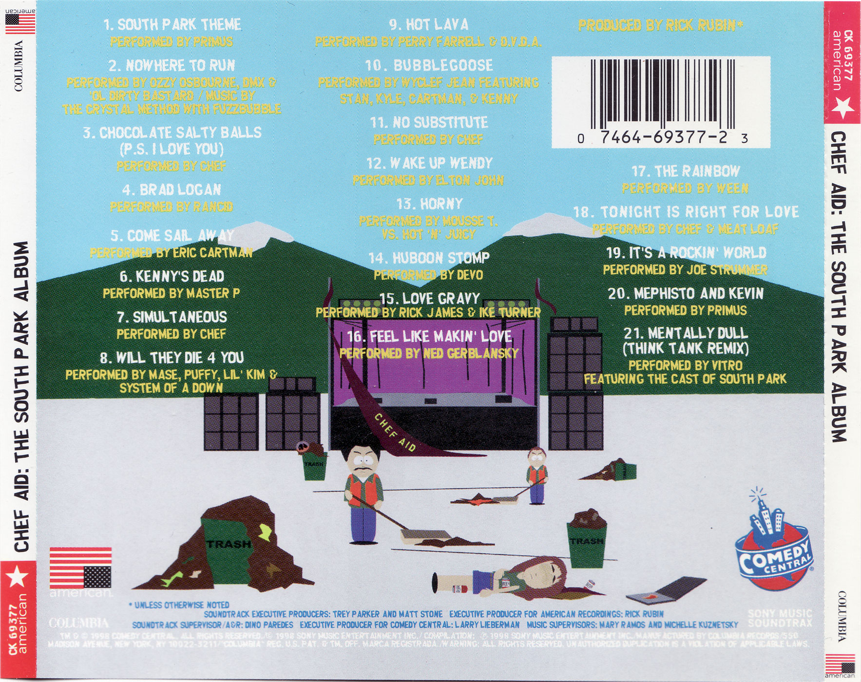 Chef Aid: The South Park Album | janesaddiction org