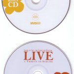 Look At All The Love We Found Live DVD Disc