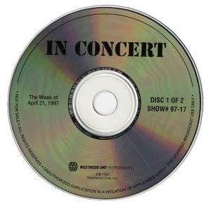 In Concert (#97-17) Disc