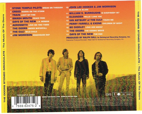 Stoned Immaculate: The Music of the Doors   janesaddiction org