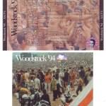Woodstock '94 (Box Set) Discs 9&10 Cover & U-Card