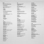 Worktape 1 Vinyl Bootleg Liner