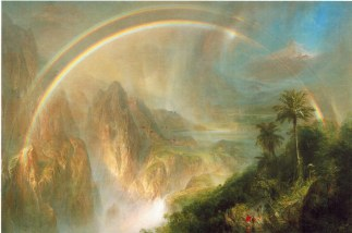 Rainy Season in the Tropics by Frederic Edwn Church