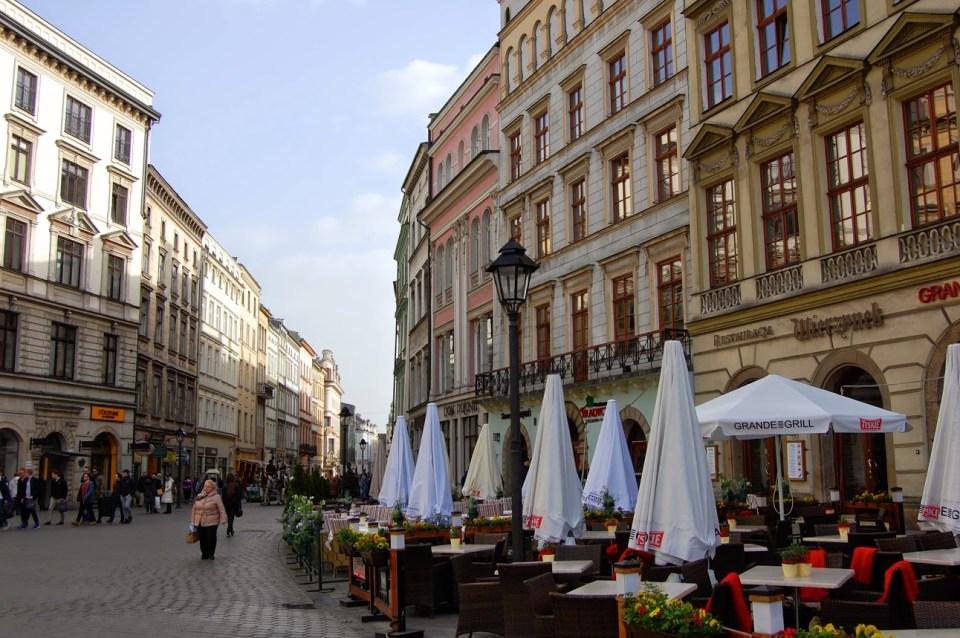 Wierzynek restaurant in Krakow Poland vacation travel