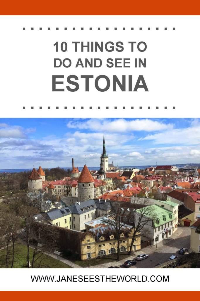 Tallinn Estonia old town travel vacation