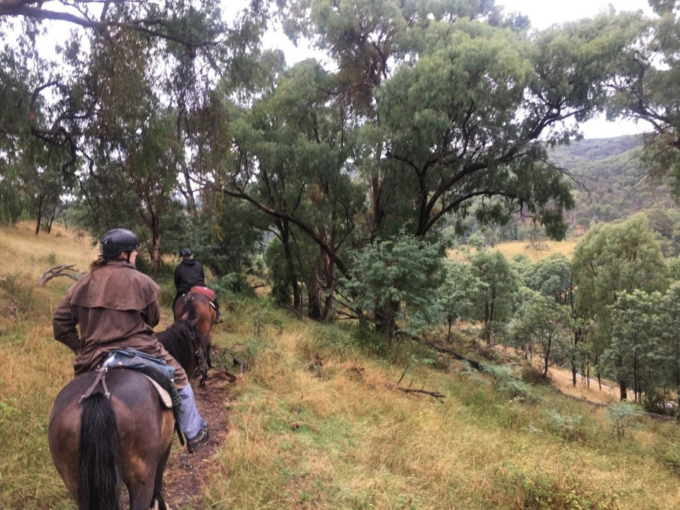 how to plan and save for a trip vacation women who travel Australia Snowy River horseback riding