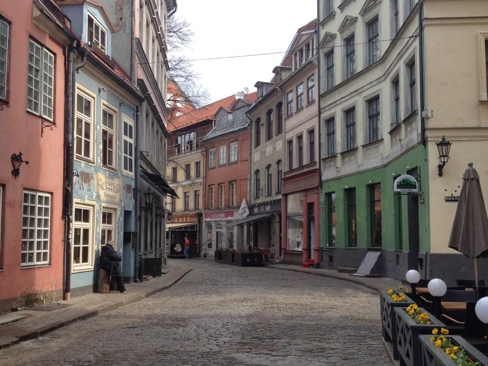 Riga Latvia tourists travel vacation