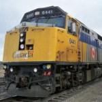 Train in Canada