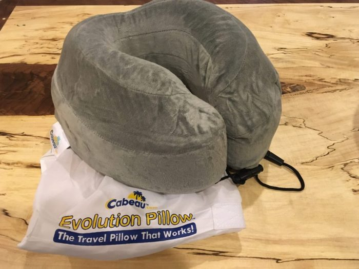 Cabeau memory foam neck pillow