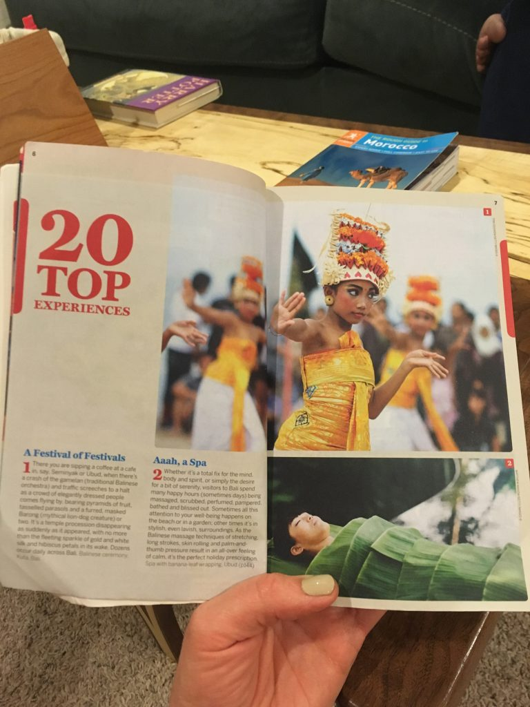 Top things to do in a Guidebook